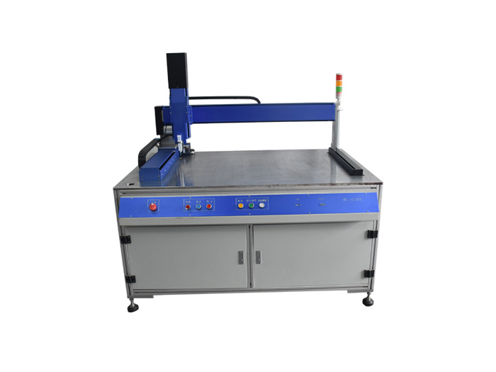 Transformer glue filling machine